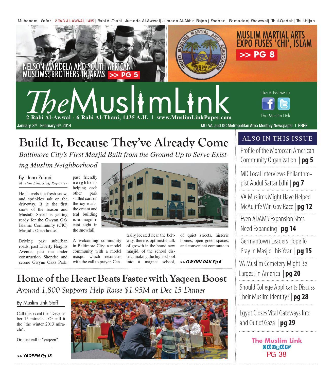 The Muslim Link, January 3, 2014 by The Muslim Link - issuu