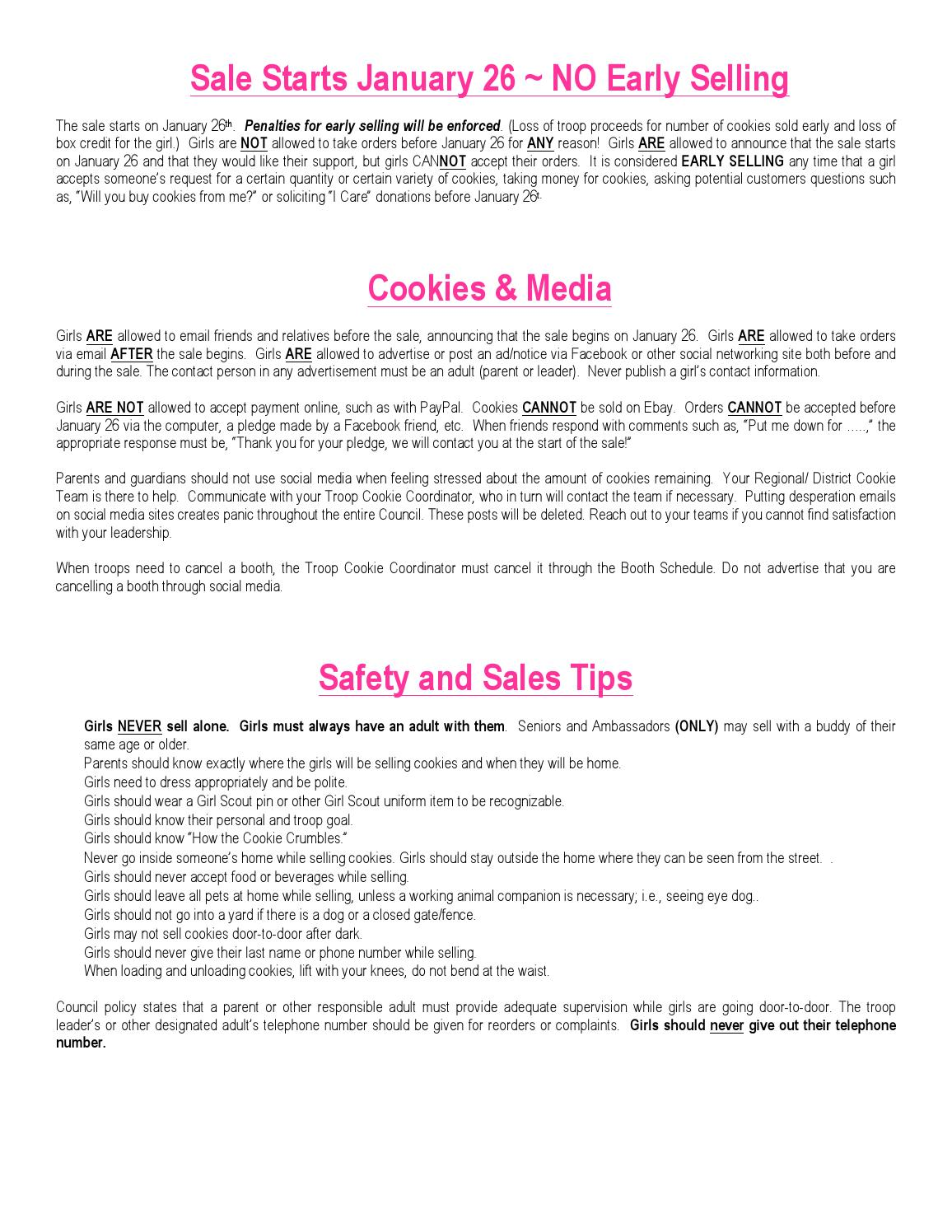 Cookie family guide by Girl Scouts of San Gorgonio - issuu