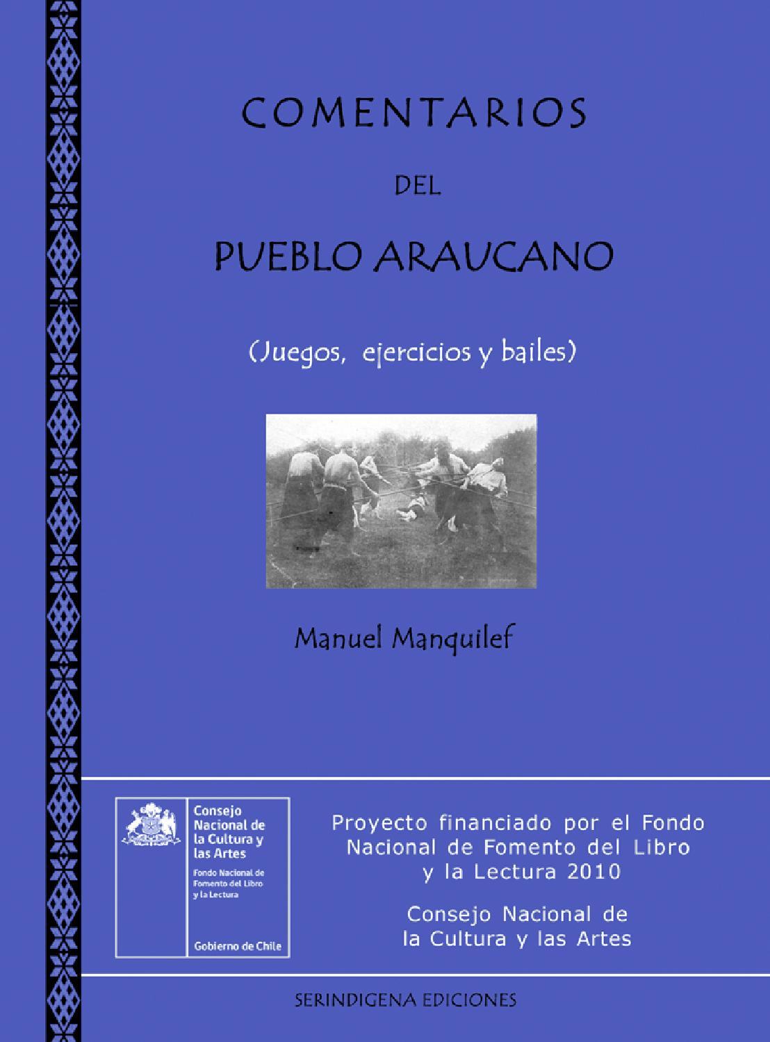 Comentarios del Pueblo Araucano II La Jimnasia Nacional (Juegos ...