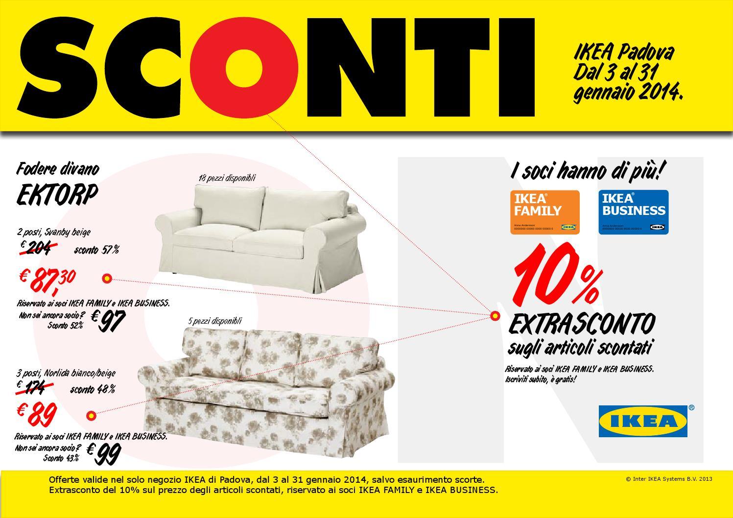 Ektorp Fodera Divano Letto 2 Posti.Ikea Padova Sconti A4 By Catalogofree Issuu
