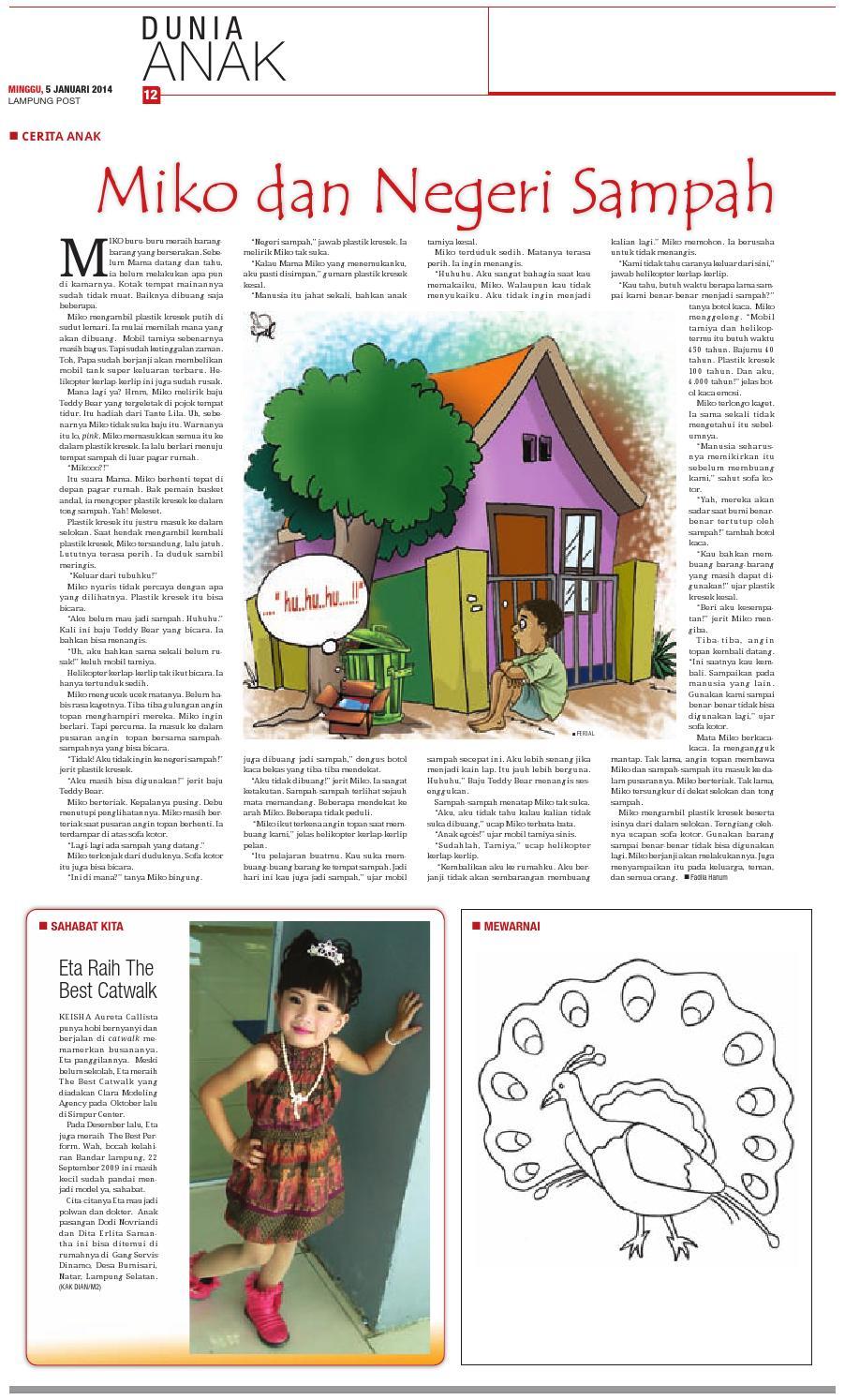 Lampungpost Edisi5 Januari 2014 By Lampung Post Issuu