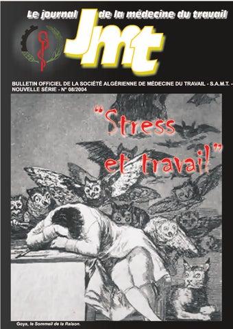 Journal De Medecine Du Travail 8 By Samt Algerie Issuu