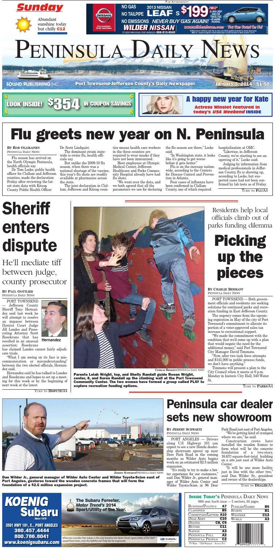 Pdn140105j By Peninsula Daily News Sequim Gazette Issuu