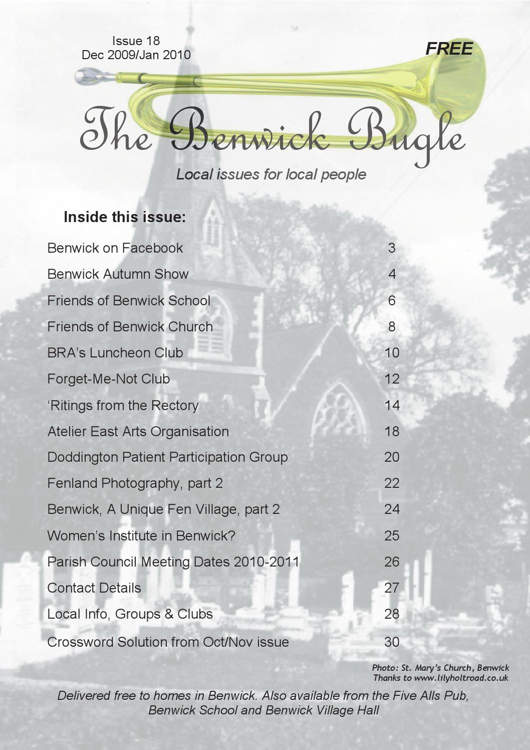 The Benwick Bugle By Archive