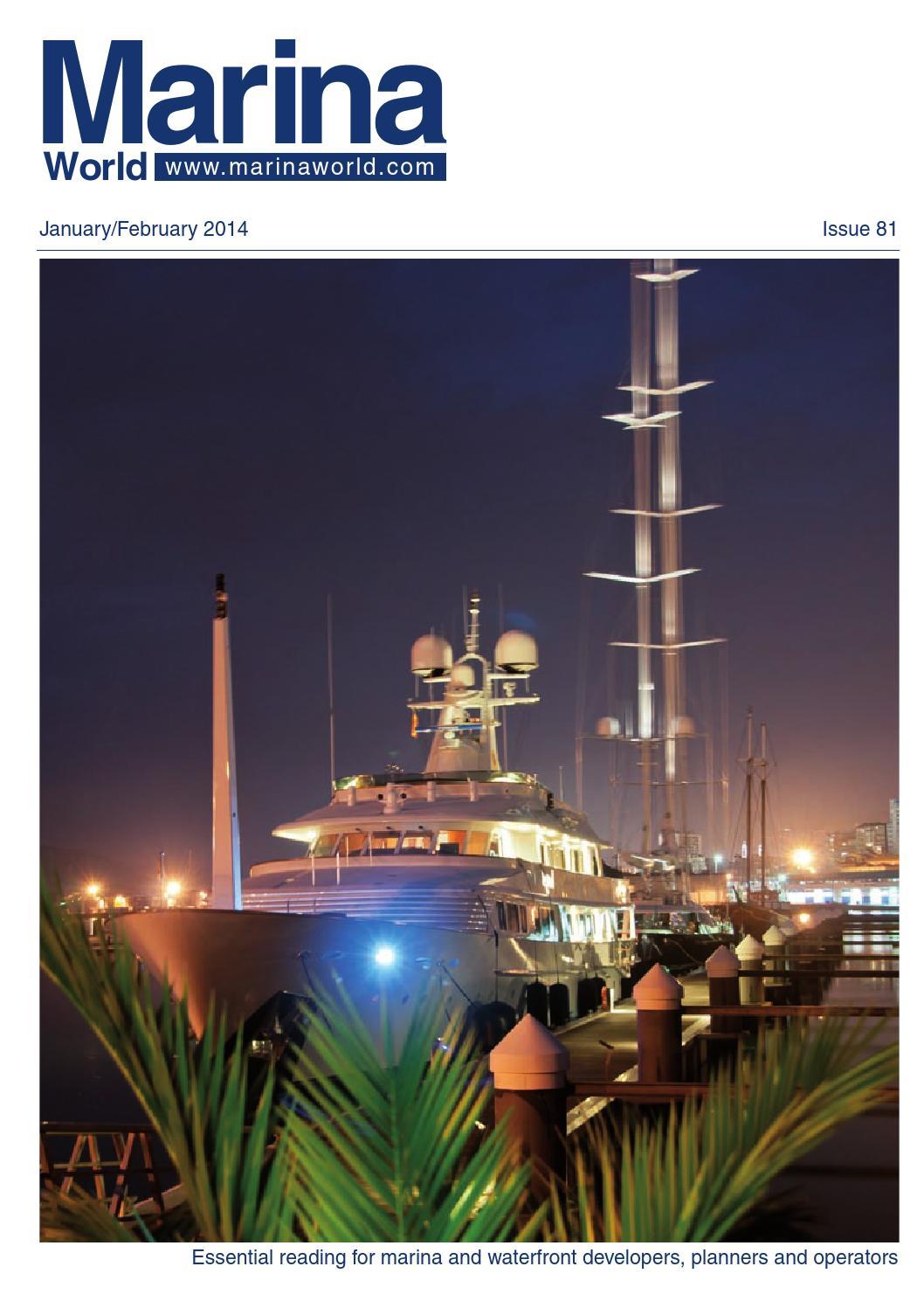 2014 Jan Feb Marina World by Loud & Clear Publishing issuu