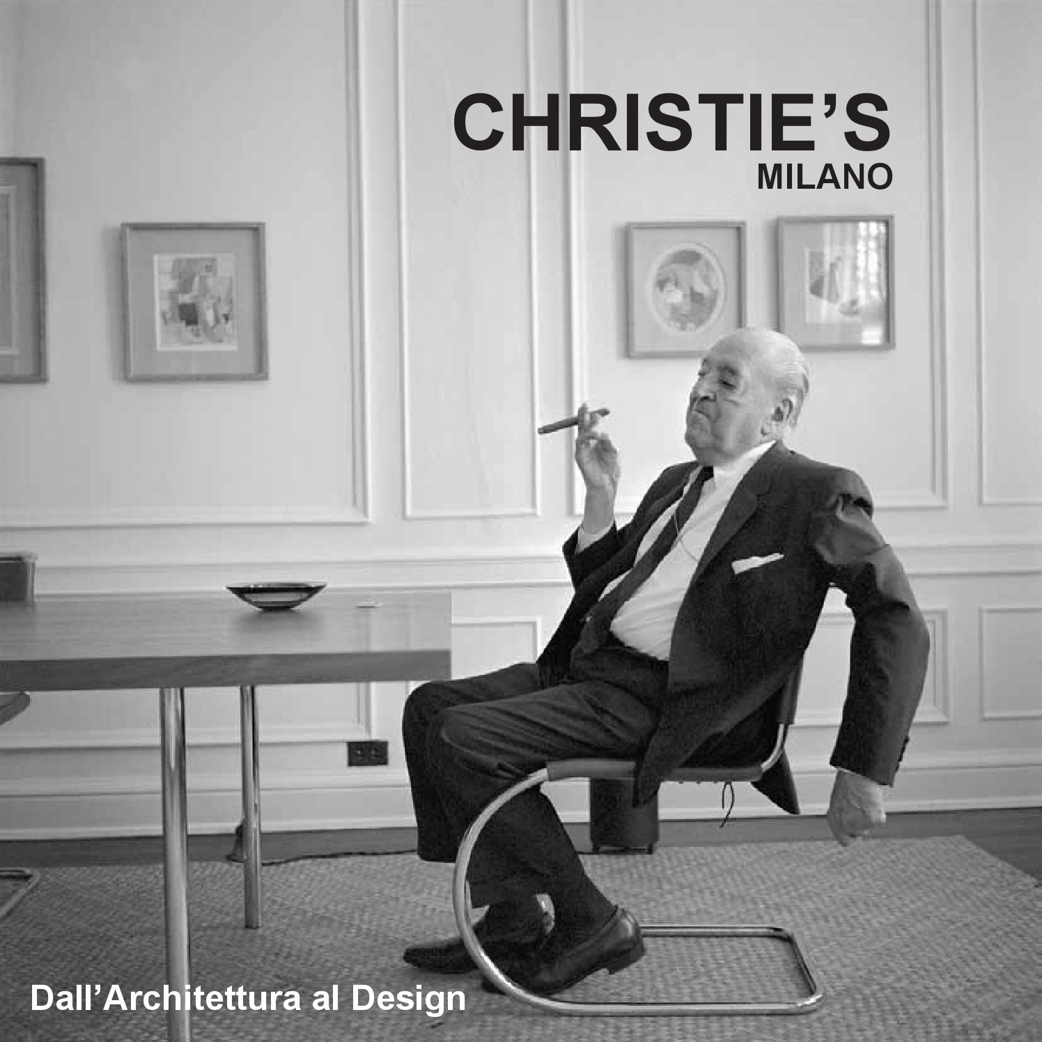CHRISTIE S catalogue from Architecture to Design by valentinatoscano issuu