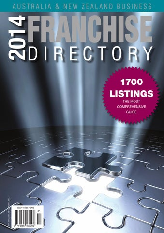 2014 AUS NZ Business Franchise Directory By CGB Publishing
