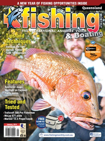 Queensland Fishing Monthly January By Fishing Monthly Issuu - Blue fin boat decalsblue fin sportsman need some advice pageiboats