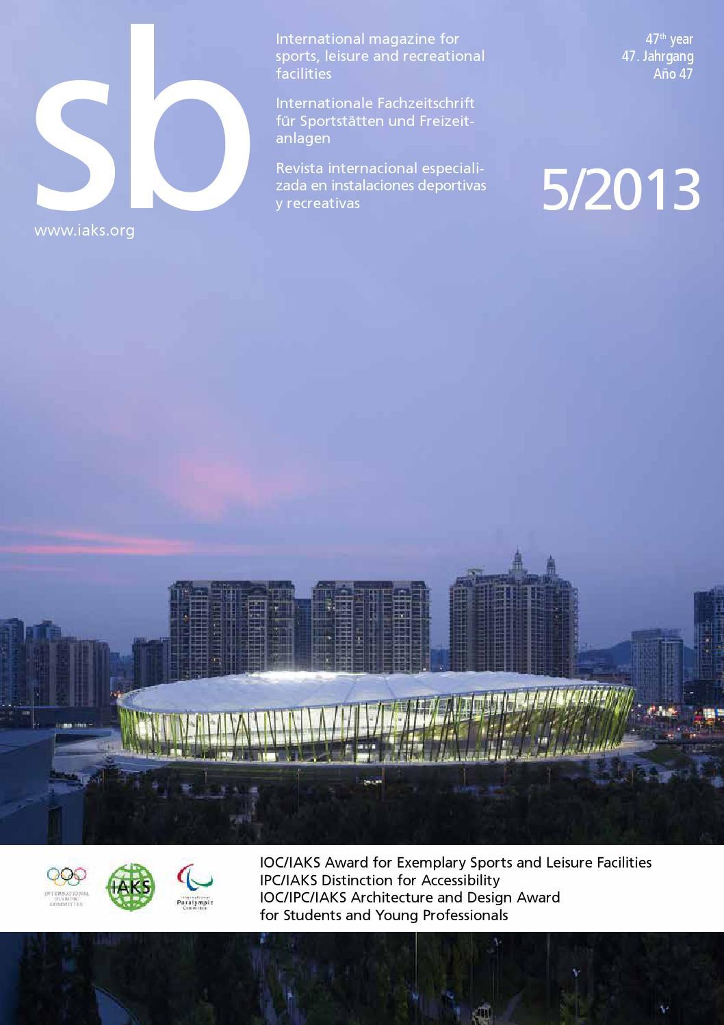 Sb 5 2013 By Iaks E V Issuu