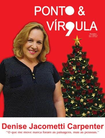 """Cover of """"Revista Ponto & Vírgula - Ano 1 - Edição 12 - Dezembro 2013"""""""