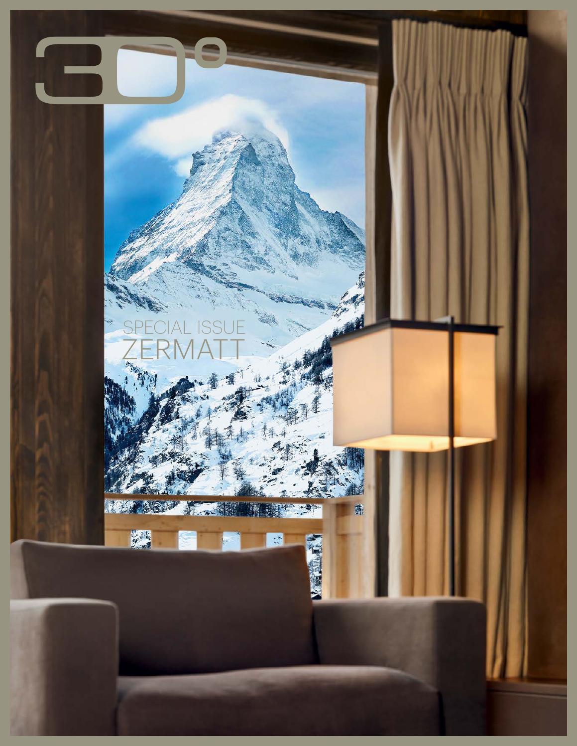 Special Issue 30° Luxe Zermatt 2014 by Christian Bugnon - issuu