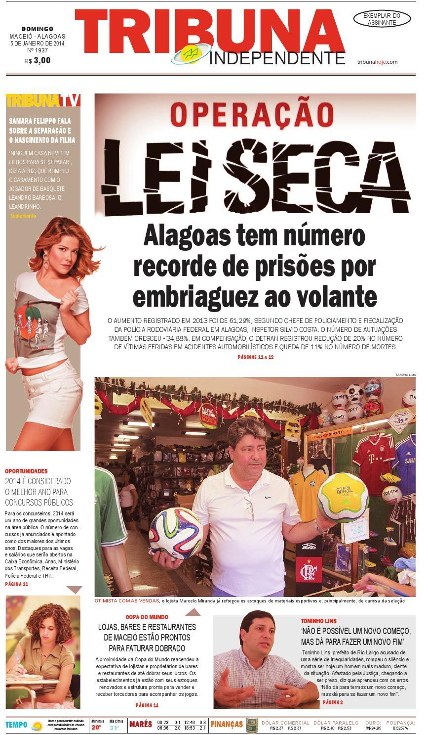 Edição número 1938 - 5 de janeiro de 2014 by Tribuna Hoje - issuu a11fbf3933