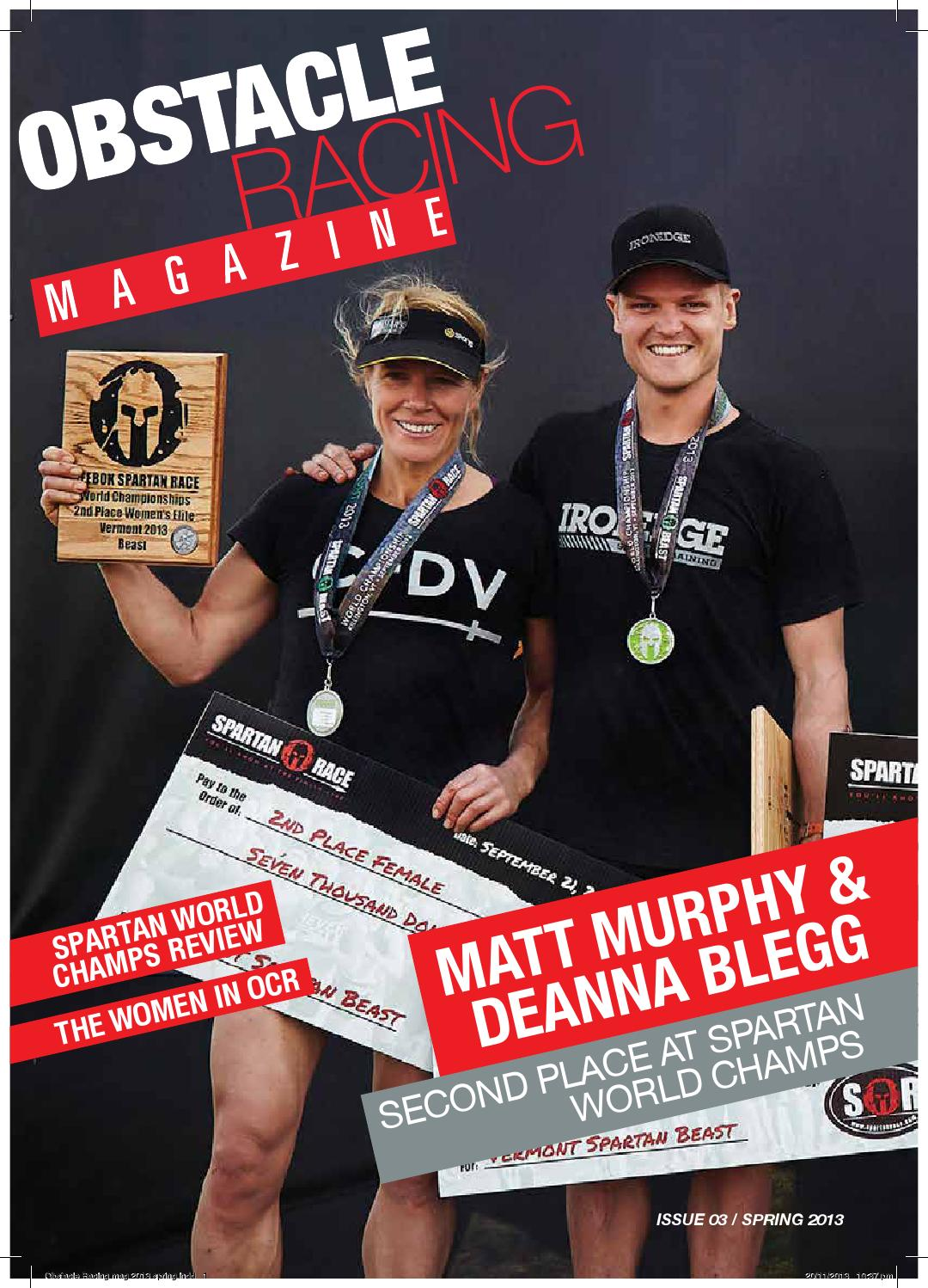 Obstacle Racing Magazine Spring 2013 by Obstacle Racing - issuu 854c5278751d