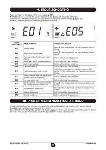 Manuale nuvola 3 bs baxi by baxi spa issuu for Caldaia baxi e10