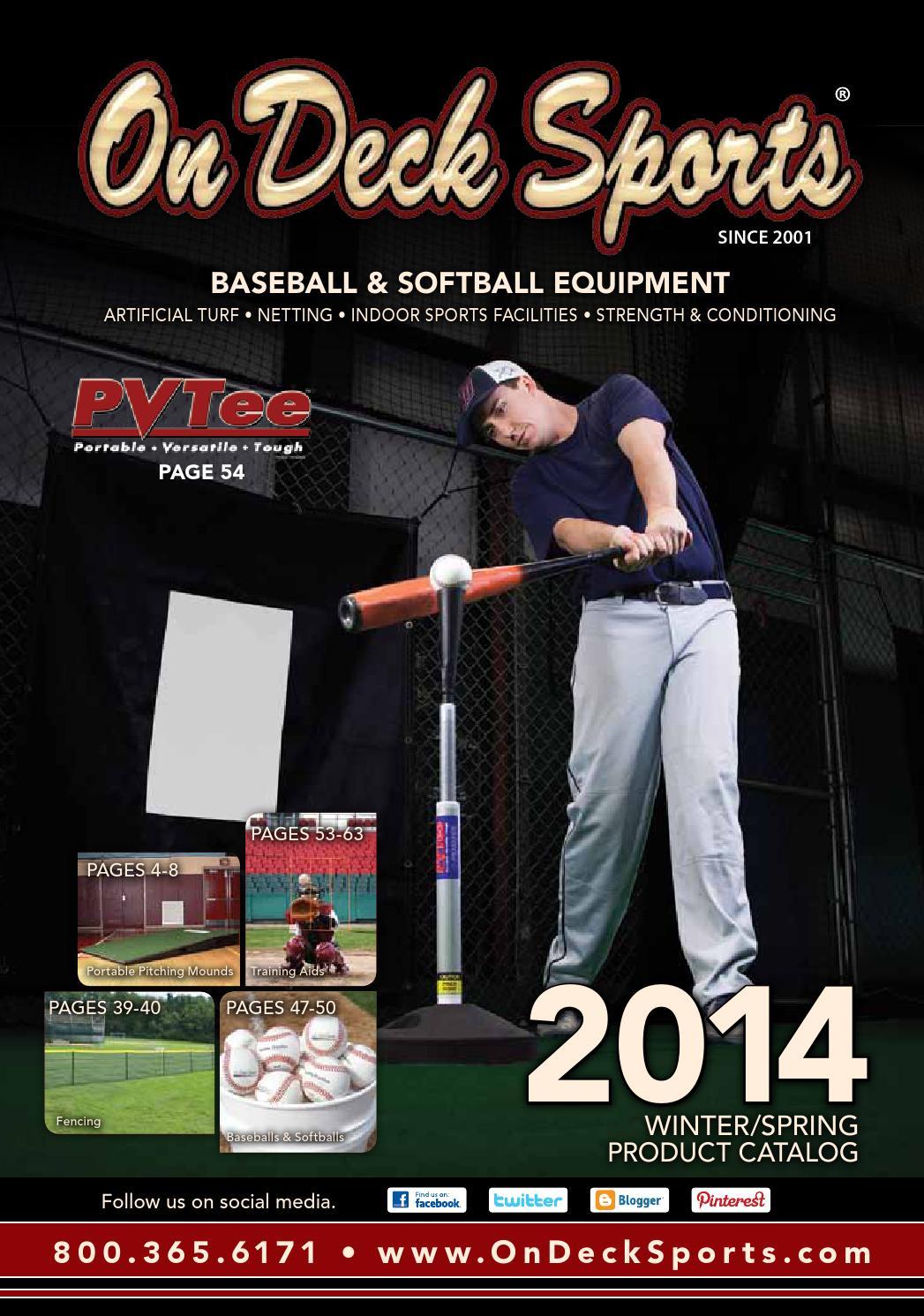 On Deck Sports 2014 Baseball and Softball Equipment Catalog