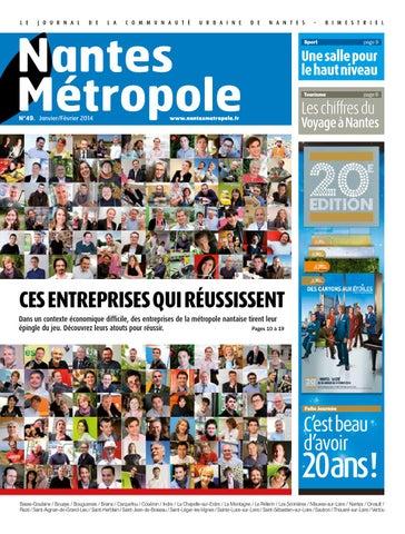 2c2a68f330a Journal Nantes Métropole n°49 - Janvier   Février 2014 by Nantes ...