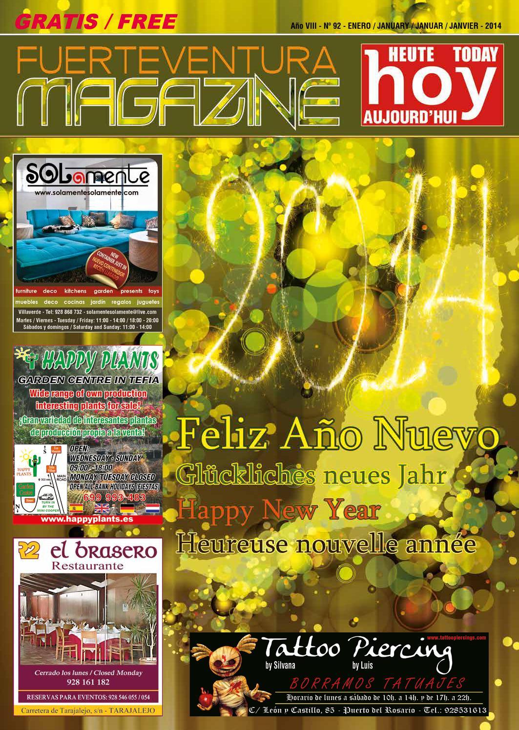 Fuerteventura Magazine Hoy Nº 92 Enero 2014 By Fuerteventura