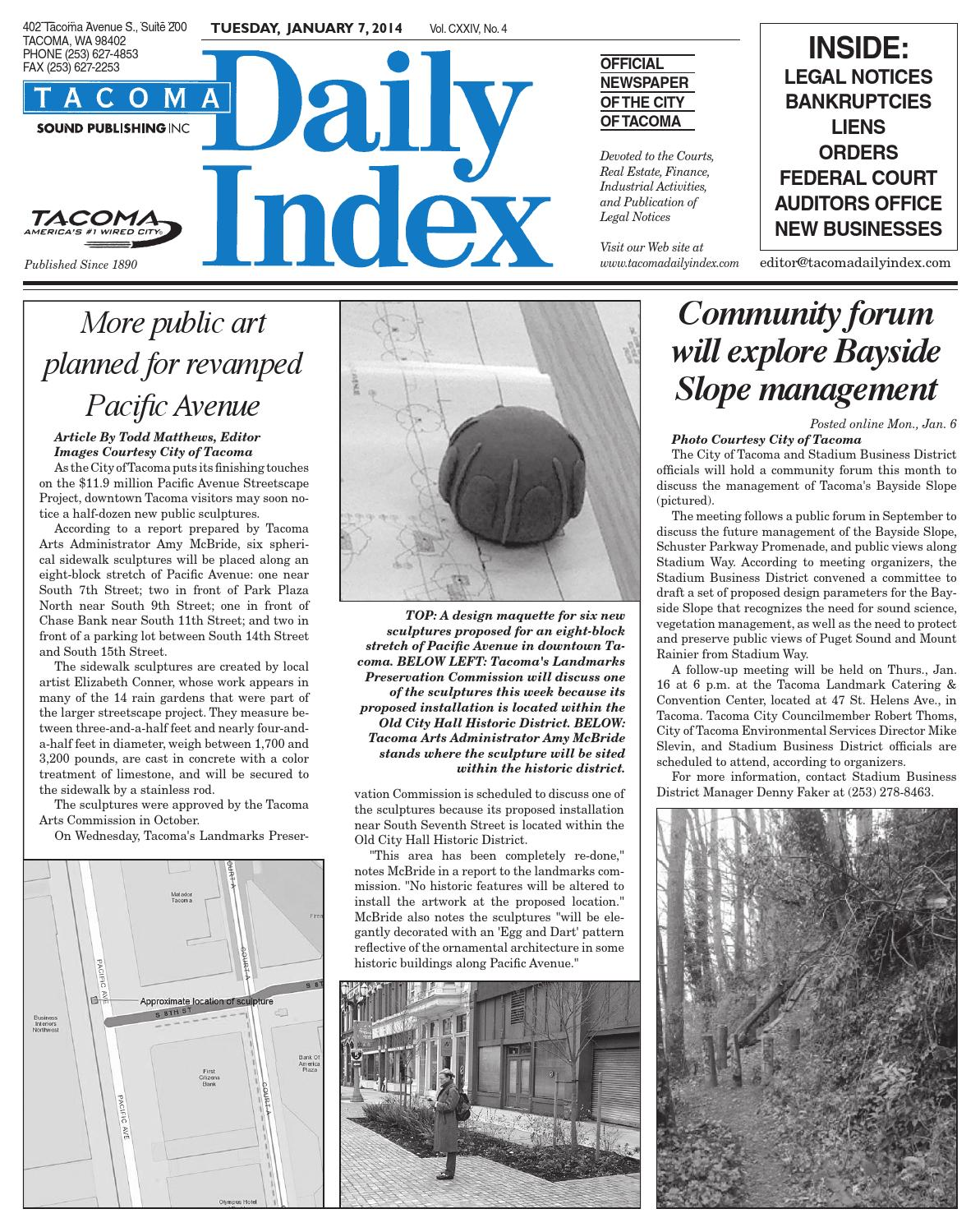 sc 1 st  Issuu & Tacoma Daily Index February 05 2014 by Sound Publishing - issuu islam-shia.org