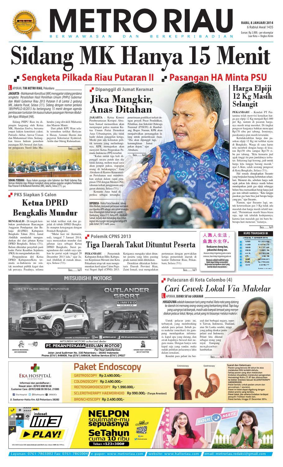 080114 By Harian Pagi Metro Riau Issuu Produk Ukm Bumn Gaun Putih Maya Raisa Kebaya