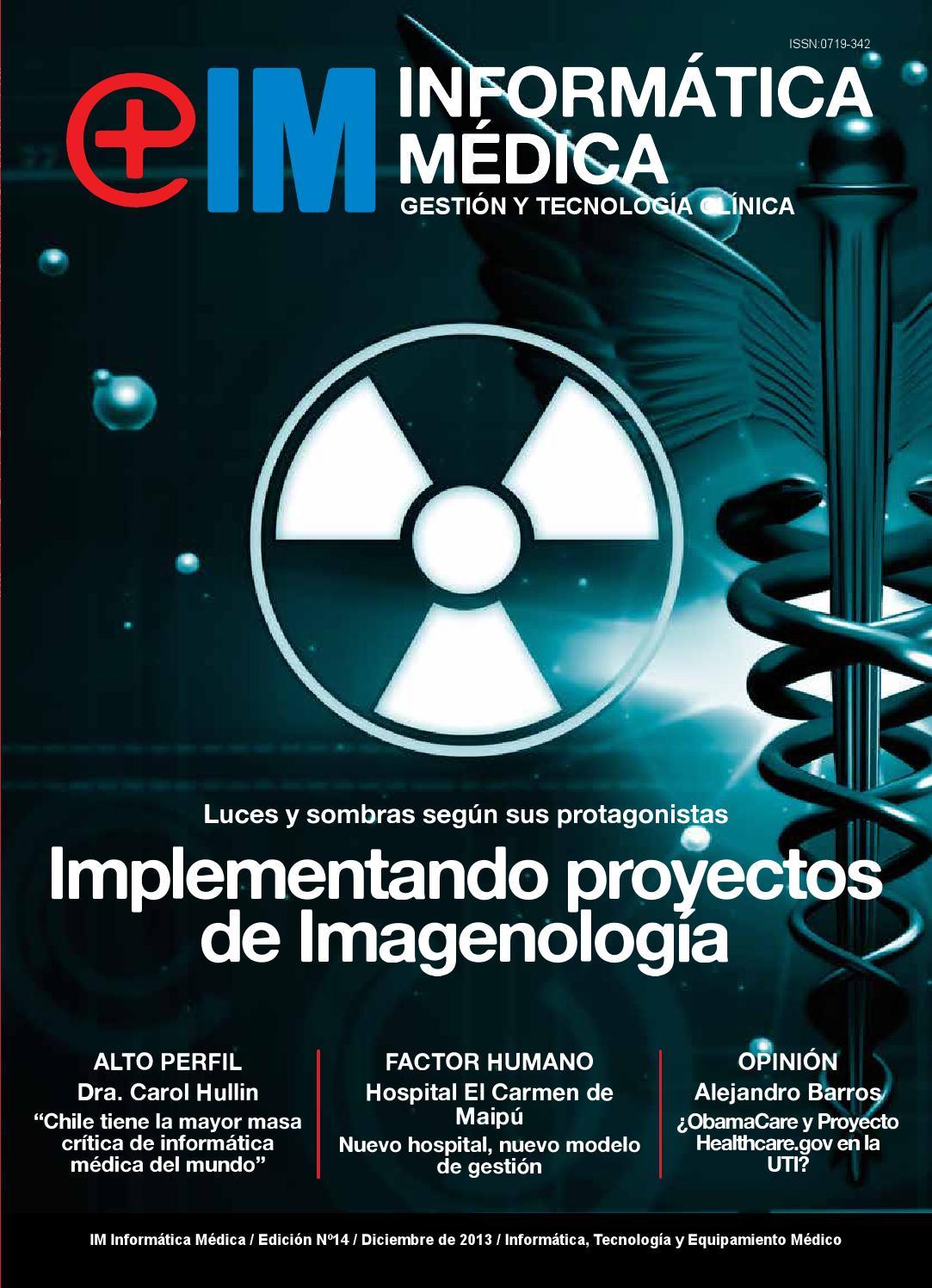 Revista Informatica Medica N° 14 Diciembre 2013 by Revista ...