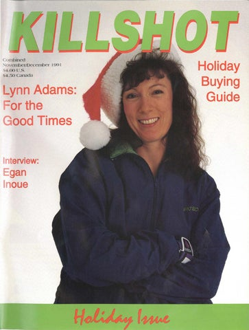a62a2de58ee Killshot Magazine - Nov Dec 1991 by Jimmy Oliver - issuu