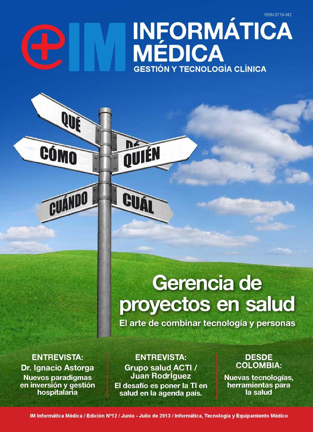 Revista Informática Médica N°12 Junio 2013