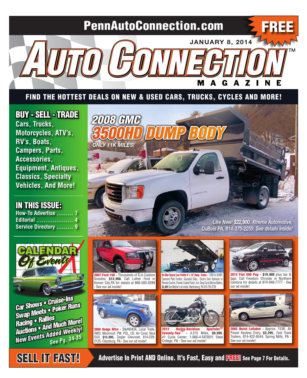 01 08 14 Auto Connection Magazine By Issuu Power Steering Pump Additionally 2007 Grand Caravan