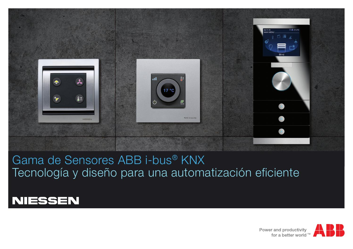 Nuevos sensores niessen by smarter dom tica issuu - Llaves de luz niessen ...