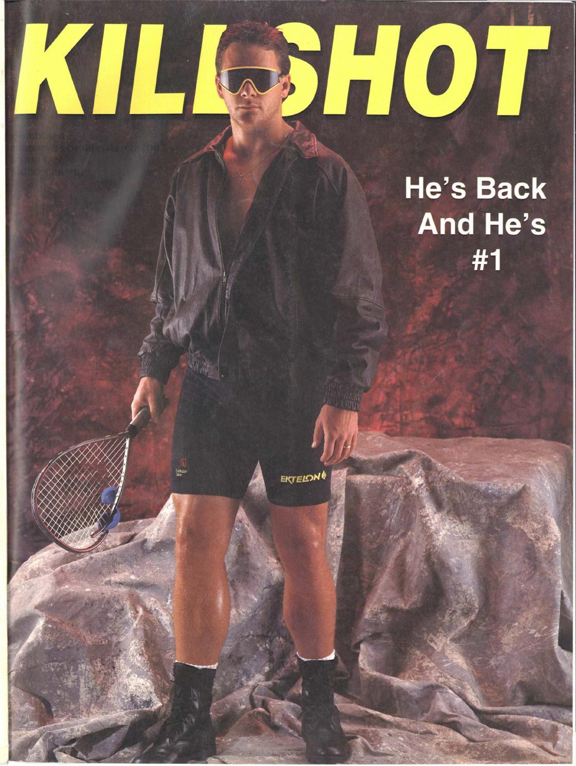 Killshot Racquetball Tournament T Shirt Short Sleeve Red, Blue,Black Colors