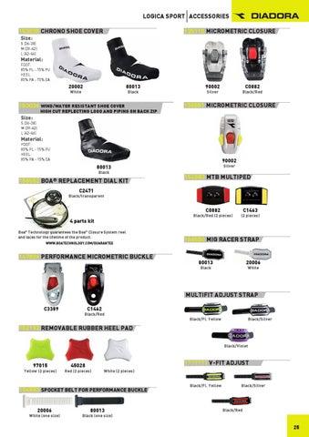 Diadora Cycling Shoes Replacement Heel
