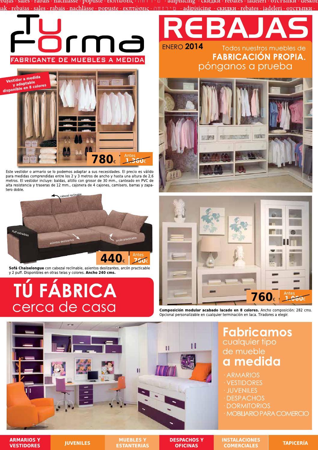 Tu forma 2014 sevilla y cordoba muebles sarria by for Factory muebles sevilla