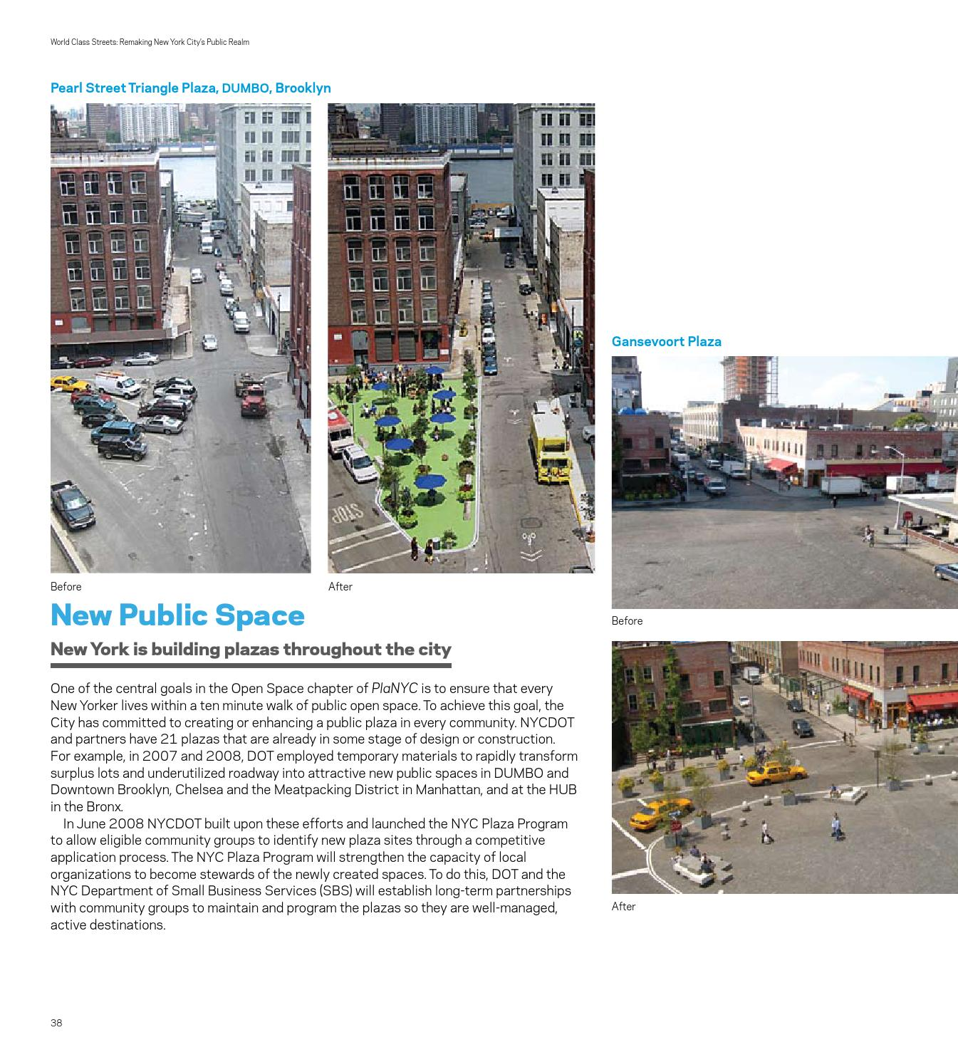 World Class Streets: Remaking New York City's Public Realm