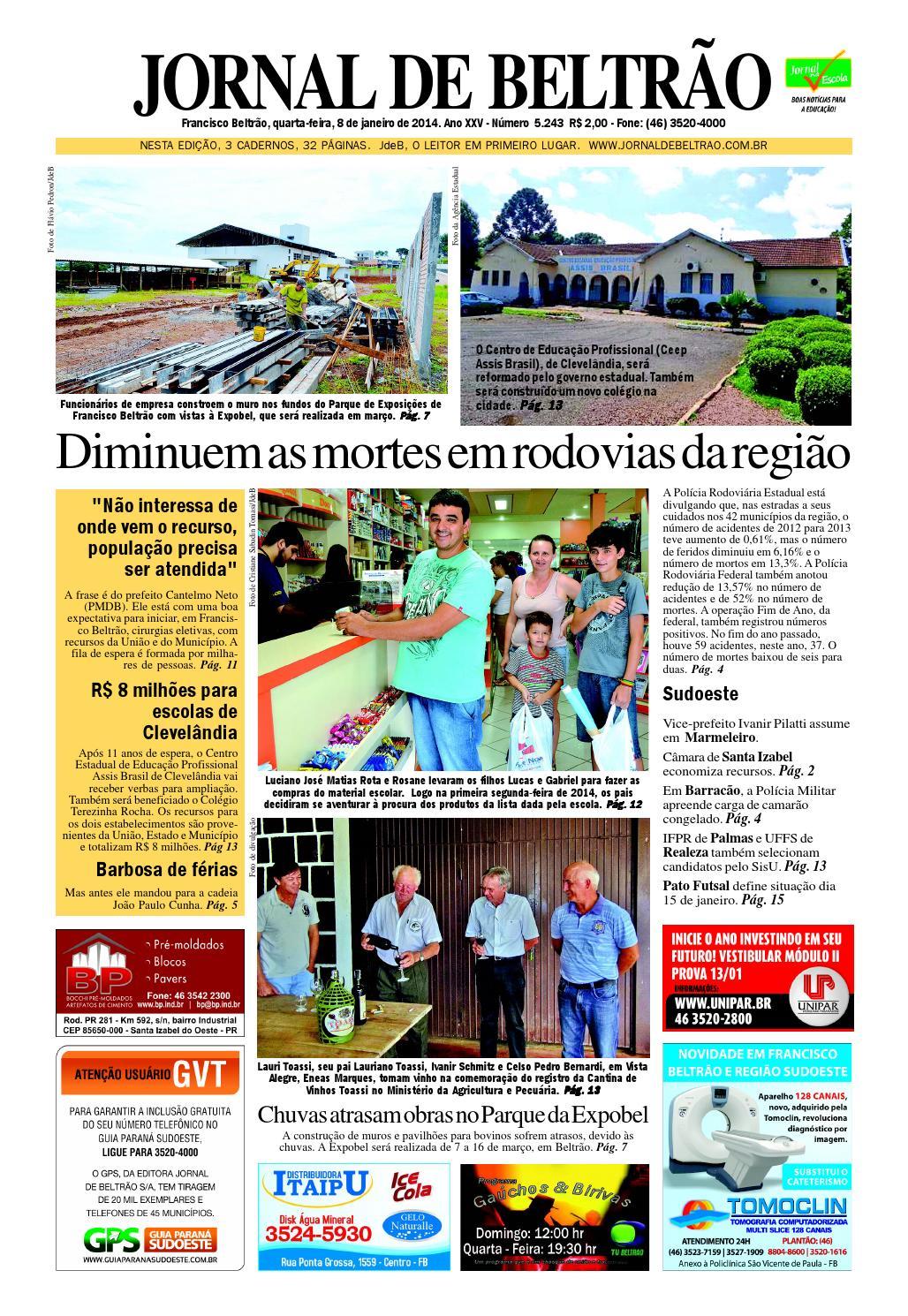 396df08f20 Jornaldebeltrao 5243 8-01-2014.pdf by Orangotoe - issuu