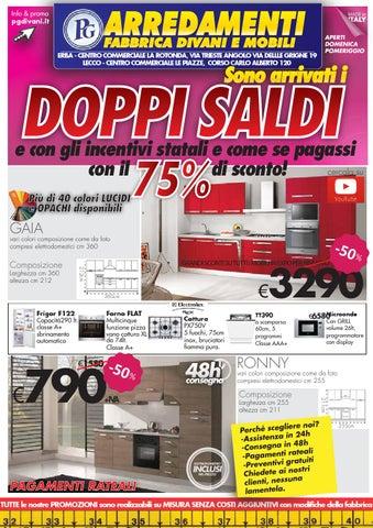Volantino promozioni gennaio pg arredamenti by pg store for Pg arredamenti erba