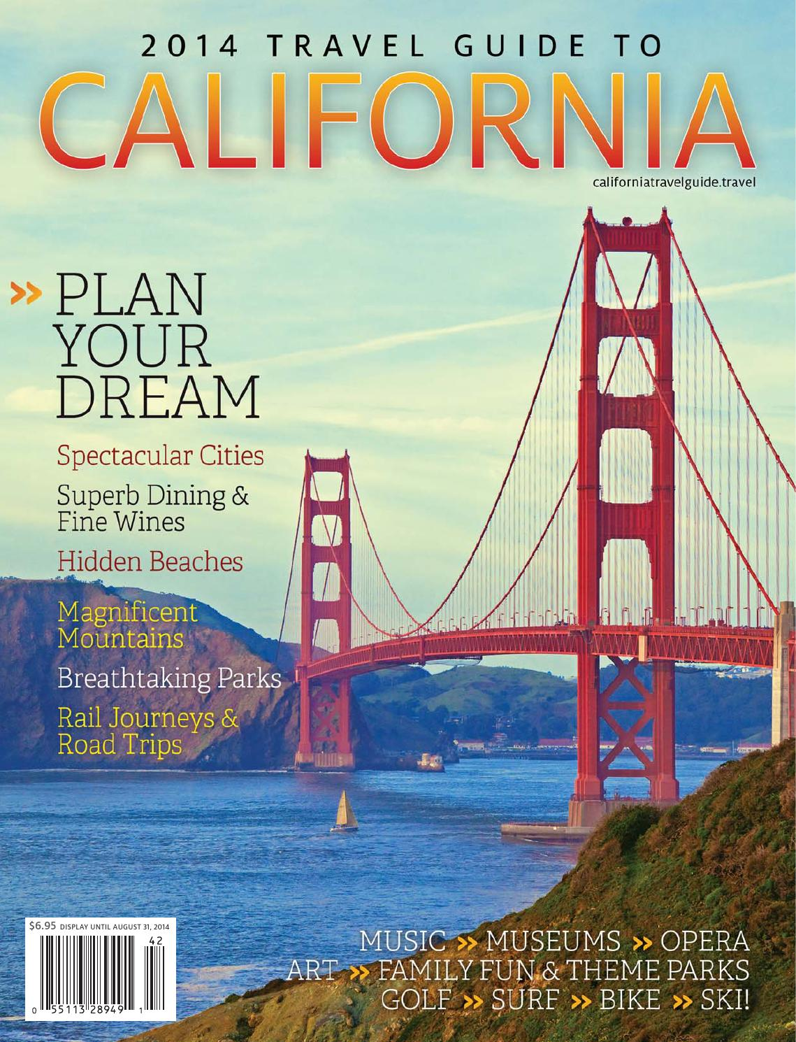 2014 travel guide to california by markintoshdesign issuu rh issuu com Travel Brochure Route 66 Travel Guide