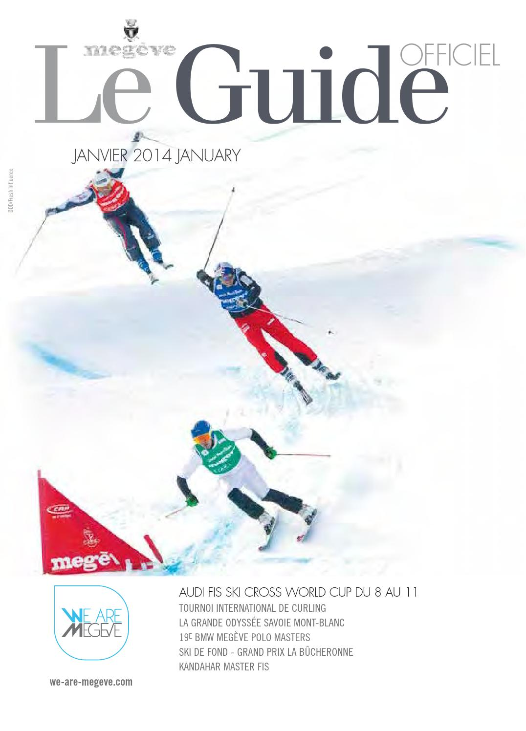 Guide officiel de Megève Janvier 2014 by Édimontagne issuu