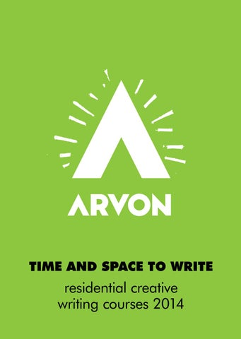 Creative writing courses with the Arvon Foundation