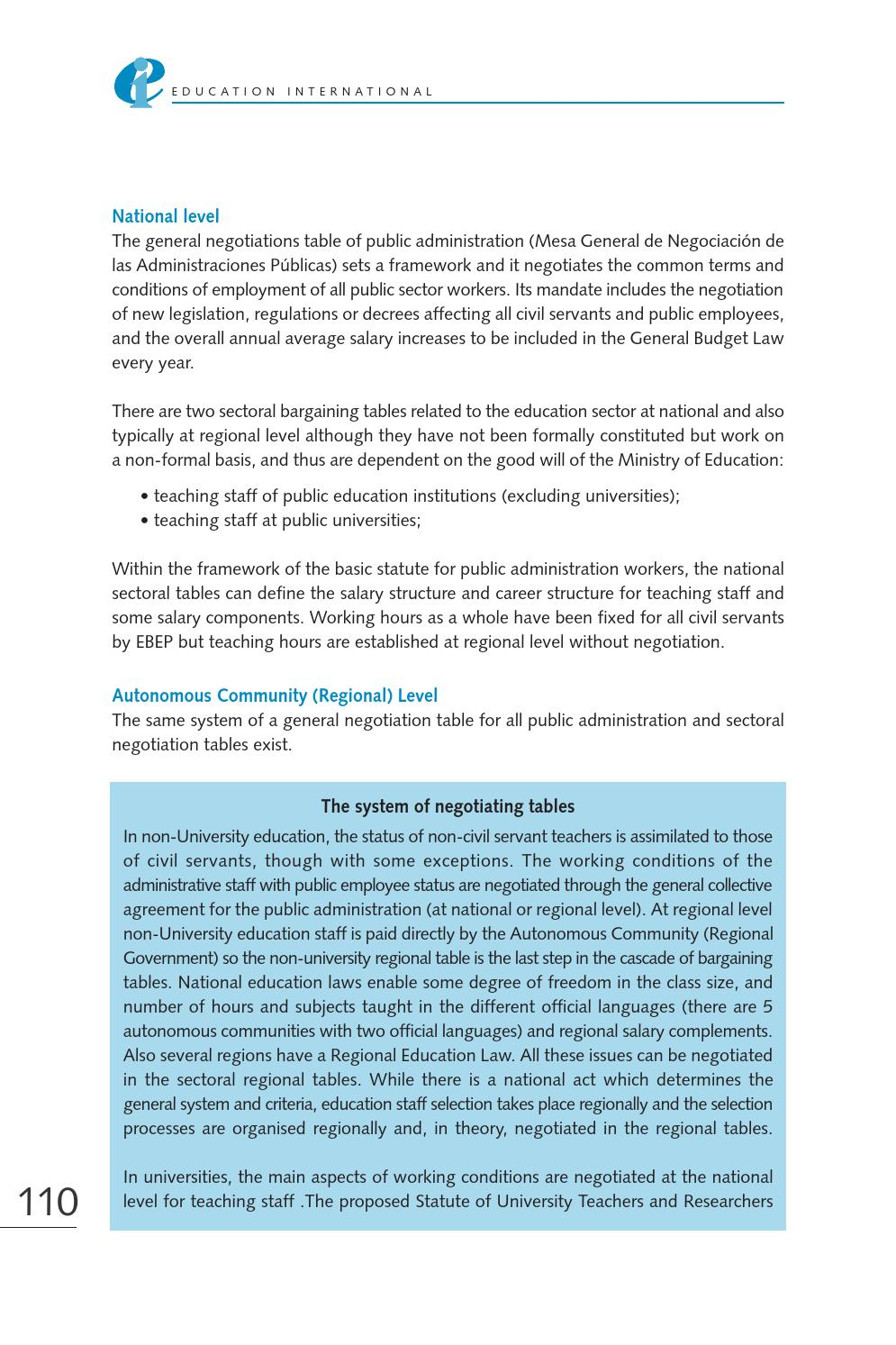 Study On Trends In Freedom Of Association And Collective Bargaining 2008 2013 By Education International Issuu