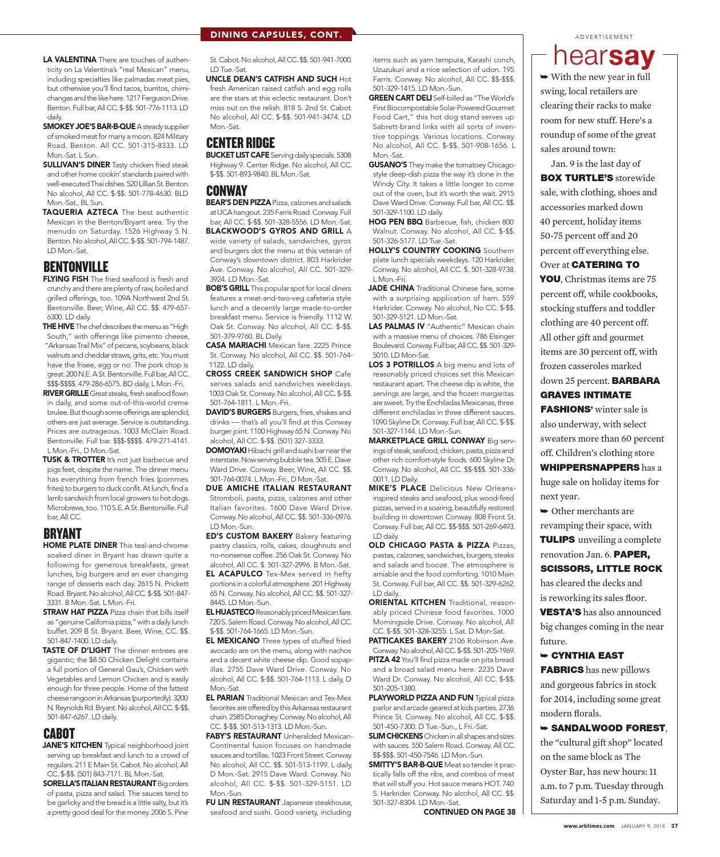 Arkansas Times - January 9, 2014 by Arkansas Times - issuu