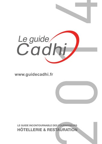 Guide Cadhi 2014 By Cadhi Issuu