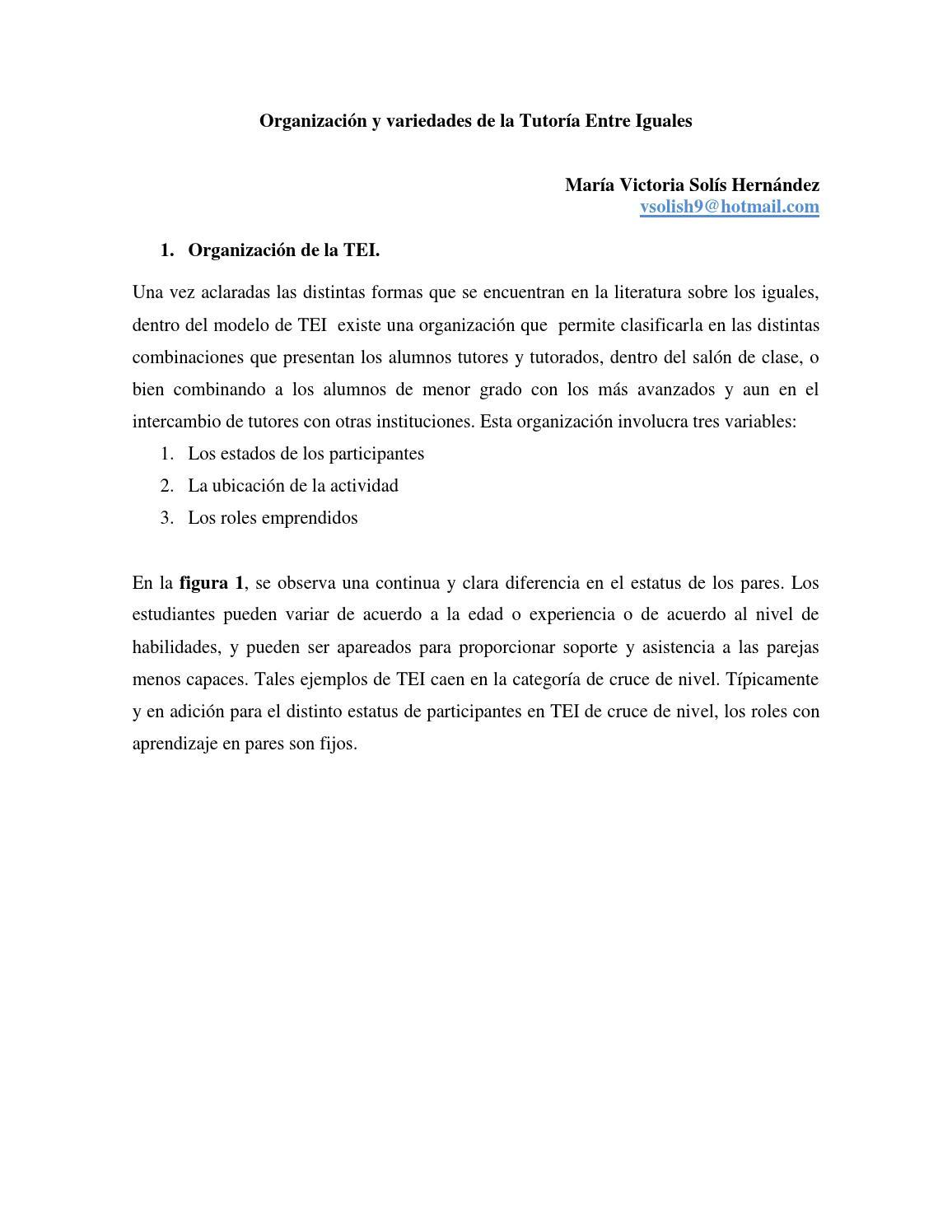 Organización y variedades de la tei by Victor Ramirez E - issuu