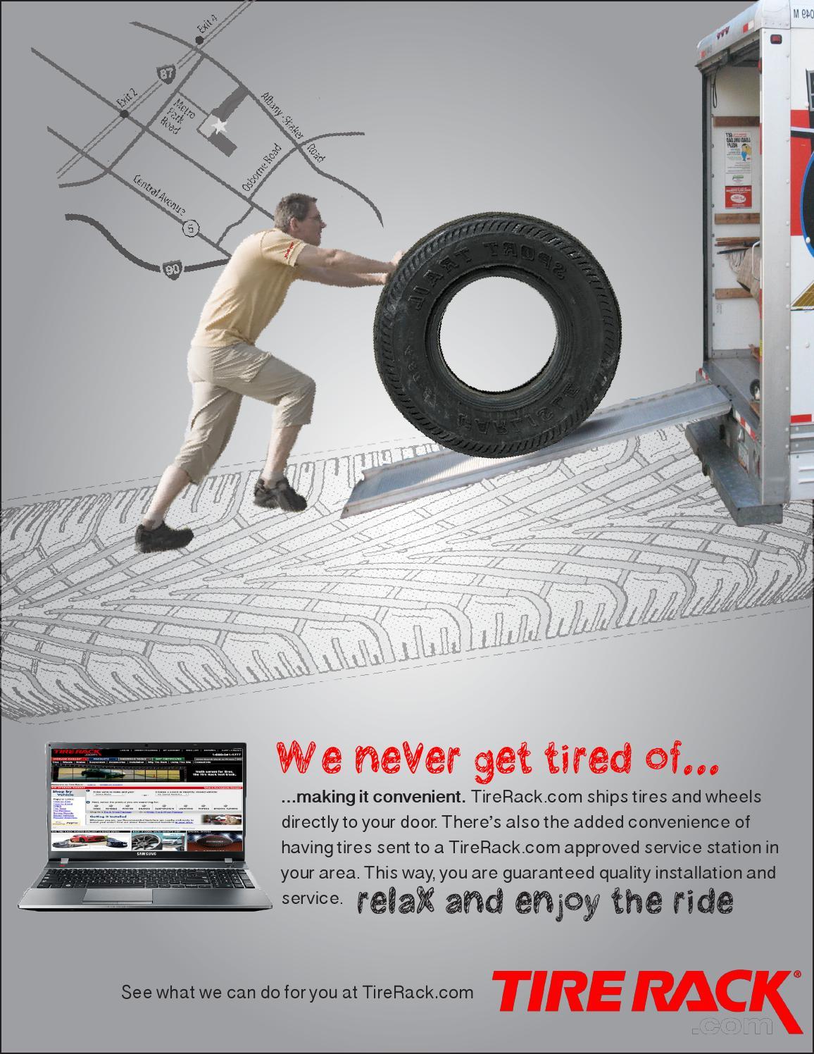 Tire Rack Ad by Tyra Mazzer - issuu