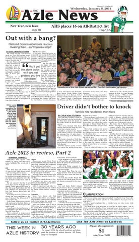 Volume 62, Number 30. Azle News