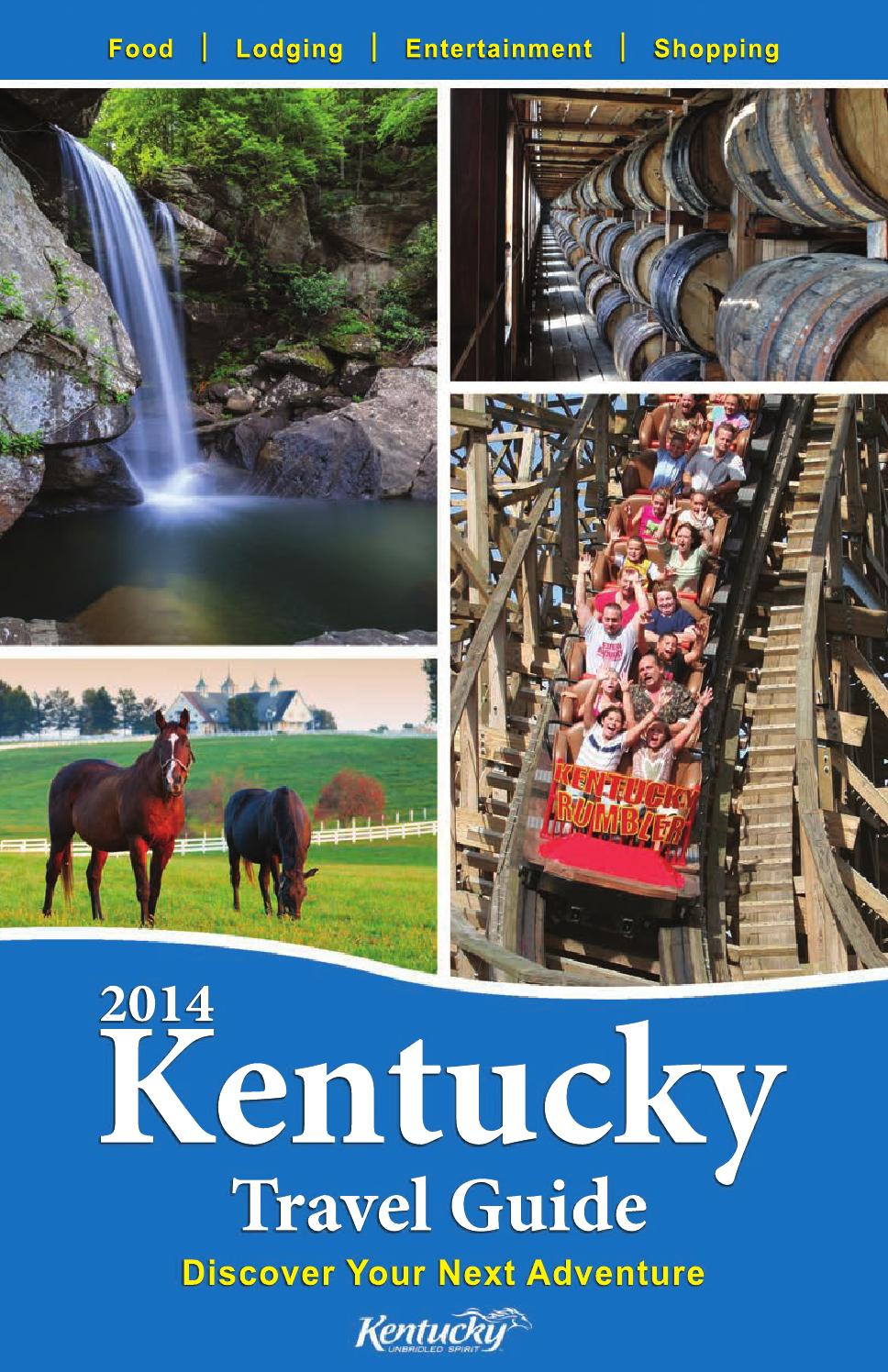 2014 Kentucky Travel Guide By Integrated Media Corp