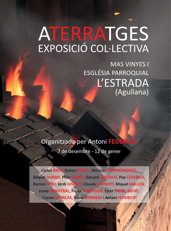 Aterratges ceramics exhibition by m nica campdepadr s issuu - Mas l estepa agullana ...
