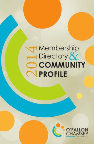 2014 membership directory community profile by ofallon chamber of 2014 fandeluxe Choice Image