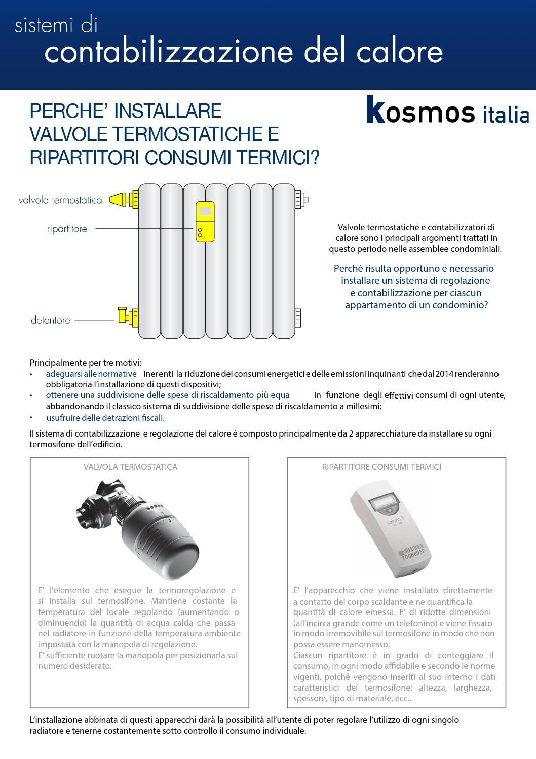 Contabilizzazione del Calore Kosmos Italia by kosmos