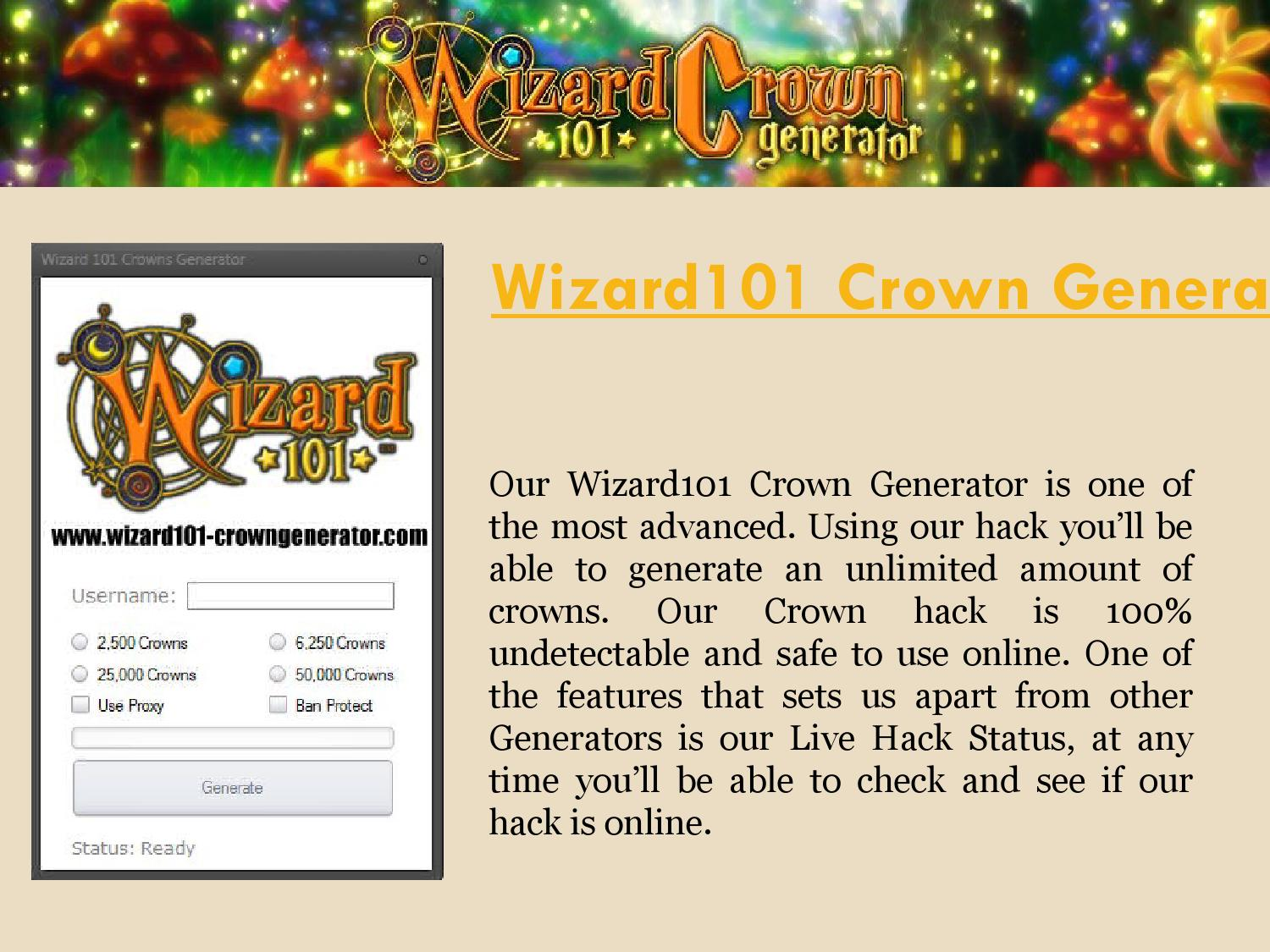 Wizard 101 Free Crowns by Wizard 101 Free Crowns - issuu