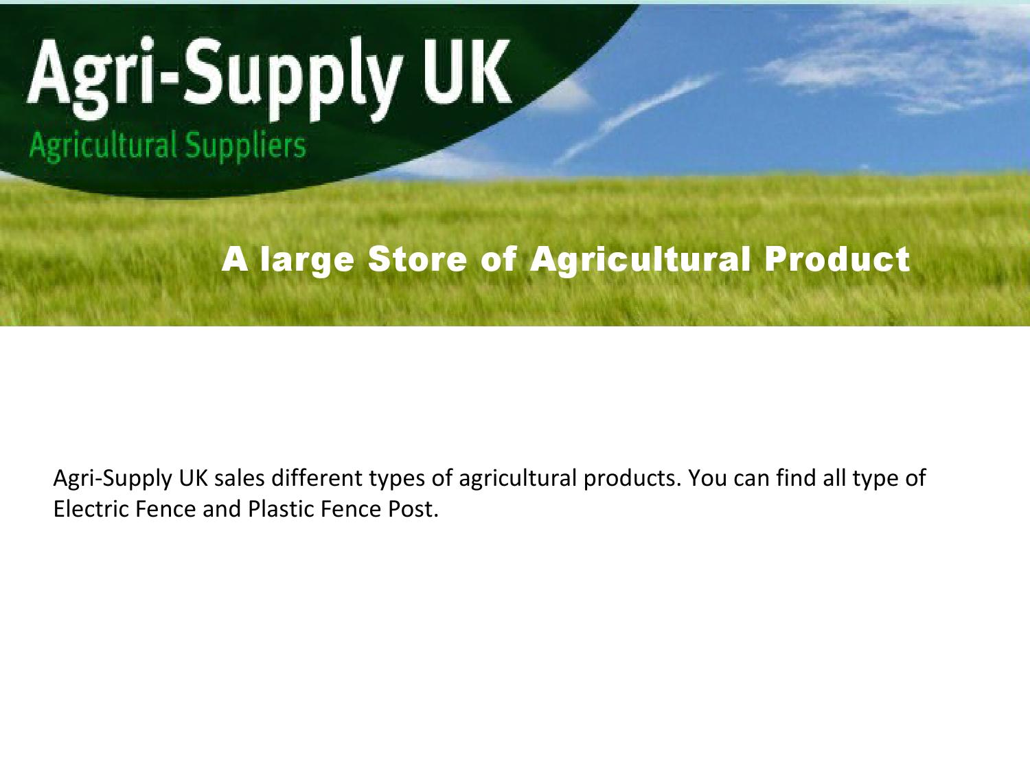 A large store of agricultural product by Agri-Supply UK - issuu