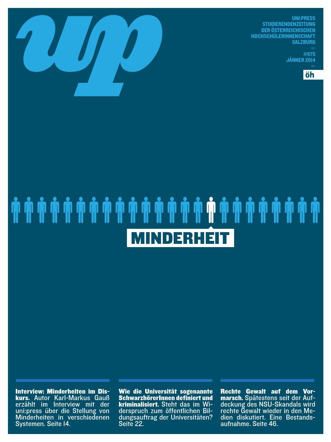 Uni:Press #675 (Jänner 2014) by uni:press (ÖH Salzburg) - issuu